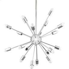 Volley Chandelier in Silver Product Image
