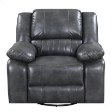 Emerald Home Navaro Glider Recliner Gray U7120-04-03