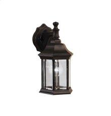 Chesapeake Collection Chesapeake 1 Light Outdoor Wall Lantern BK
