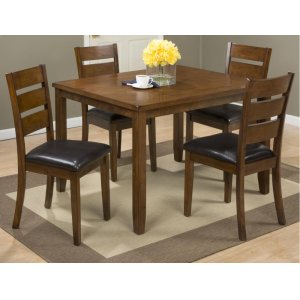 JofranPlantation 5 Pack- Table With 4 Chairs