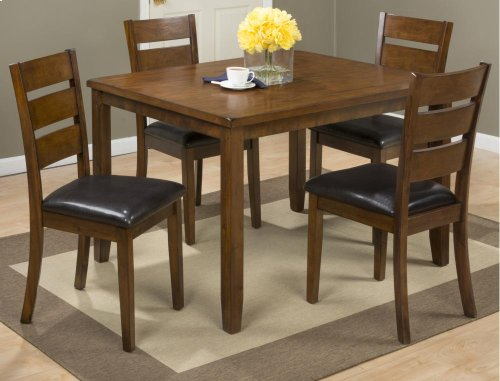 5-PC Dinette Set: Table With 4 Chairs