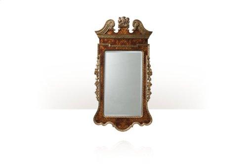 Suede Gilt Wall Mirror