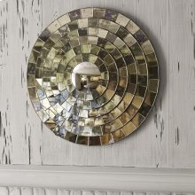 Mosaic Mirror - Round