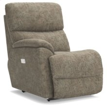 Trouper Power La-Z-Time® Right-Arm Sitting Recliner w/ Power Headrest