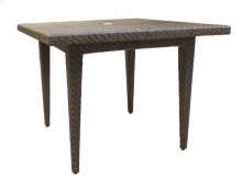 """Oasis 40"""" Square Dining Table"""
