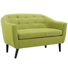 Wit Upholstered Loveseat in Wheatgrass Product Image