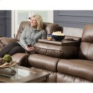 Reclining Sofa w/Drop Down Table Product Image