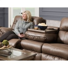 Reclining Sofa w/Drop Down Table
