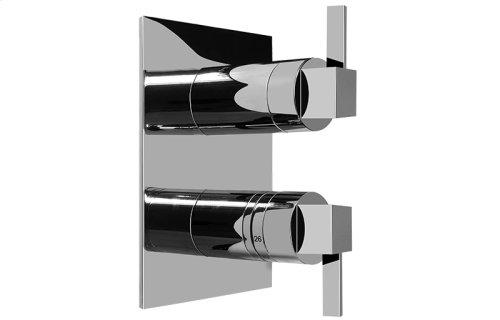 Qubic Tre SOLID Trim Plate w/Handle