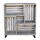 Bengal Manor Mango Wood Reclaimed Crates Bookcase Product Image