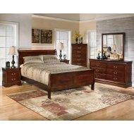 B376 Complete Queen Bed