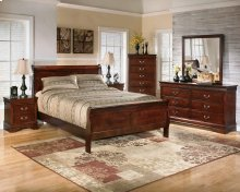B293 King Bed, Dresser, Mirror, Chest, and Nightstand