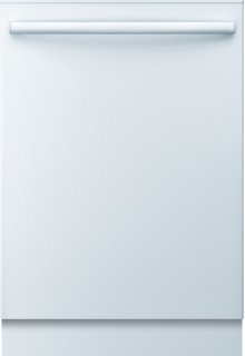 "24"" Bar Handle Dishwasher 500 Series- White SHX65P02UC"