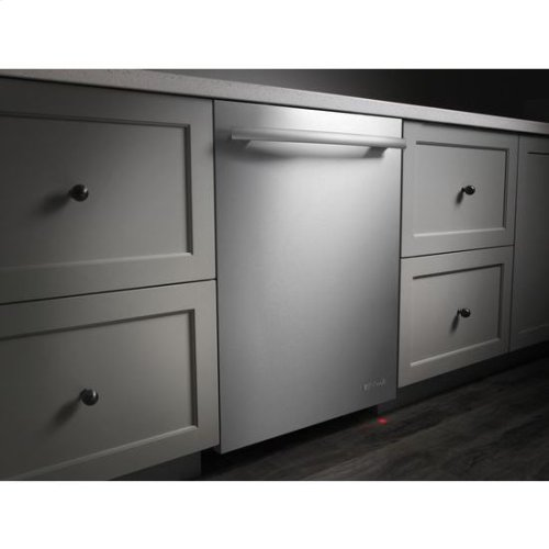 Discontinued Floor Model 1 Only 24 Inch Flush Trifecta Dishwasher With Built