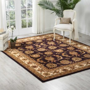 Nourison 2000 2022 Lav Rectangle Rug 27'' X 18''