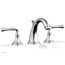 BEADED Widespread Faucet Lever Handles 207-01 - Polished Chrome