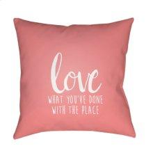 """Love The Place QTE-051 18"""" x 18"""""""