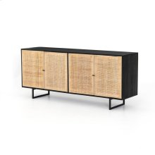 Black Wash Finish Carmel Sideboard