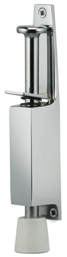 Plunger Door Holder - Solid Brass in US26 (Polished Chrome Plated) Product Image