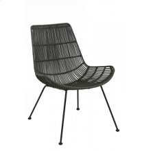 Chair 67,5x61x79 cm BARENG rattan olive green