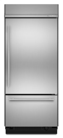 """36"""" Euro-Style Built-In Bottom Mount Refrigerator"""