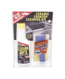 Ceramic Cooktop Cleaner Kit
