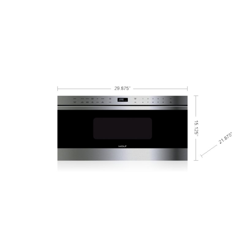"""30"""" Transitional Drawer Microwave"""