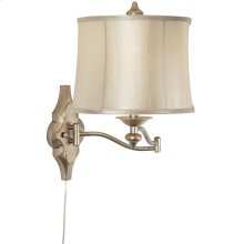 Moroccan Mist Swing Arm Wall Lamp