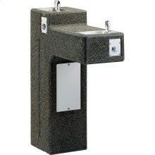 Elkay Outdoor Stone Fountain Pedestal Non-Filtered, Non-Refrigerated Freeze Resistant