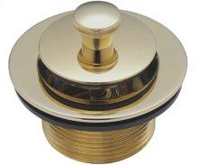 Lift & Turn Tub Drain - English Brass