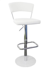 Metal Chrome Base Bar Stool.