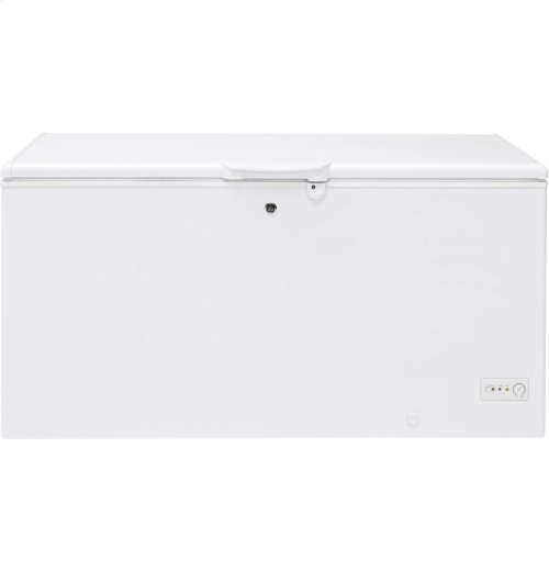 15.7 Cu. Ft. Manual Defrost Chest Freezer