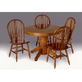 Keyhole Windsor Chair - Seat Height 18""
