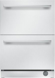 24-Inch Under-Counter Double Drawer Refrigerator/Freezer
