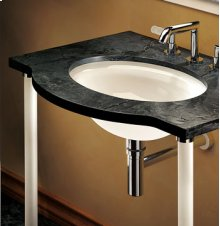 Glass Rod Console Legs for Stone Top