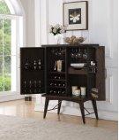 Bar Cabinet-weathered Oak Finish Product Image