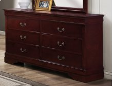 Chablis Cherry LP Dresser & Mirror