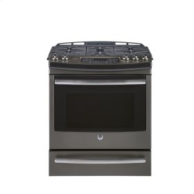 """30"""" Self-Cleaning Dual Fuel Convection Range with Warm/Storage Drawer"""
