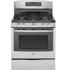 """GE Profile™ Series 30"""" Free-Standing Self Clean Gas Range"""