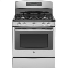 "GE Profile™ Series 30"" Free-Standing Self Clean Gas Range"