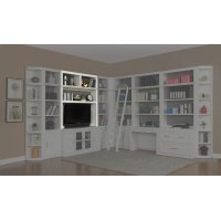 Catalina 56 in. Bookcase TV Hutch Product Image