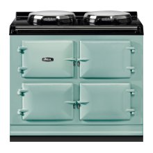 """AGA Total Control 39"""" Electric Pistachio with Stainless Steel trim"""