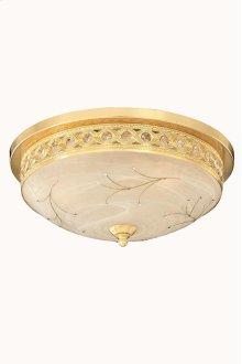 4720 Italia Collection Flush Mount Gold Finish (Swarovski Elements Crystal Clear)