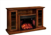 """Ember 64"""" Fireplace Media Cabinet Product Image"""