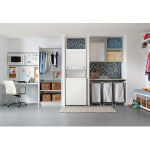 Electric Washer/Dryer High Efficiency Laundry Center