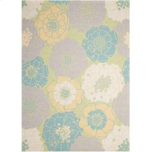 Home & Garden Rs021 Gre Rectangle Rug 5'3'' X 7'5''