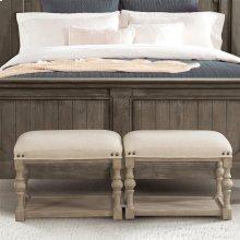 Juniper - Upholstered Bunching Bench - Natural Finish