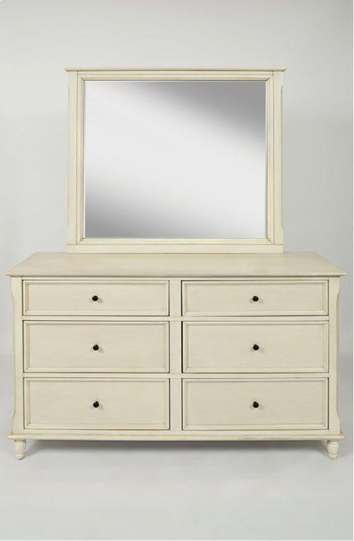 Avignon Ivory Mirror
