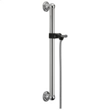 Chrome Adjustable Slide Bar / Grab Bar Assembly
