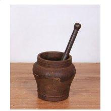 Vintage Iron Mortar & Pestle